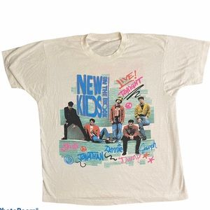 Authentic New Kids on the Block concert tee